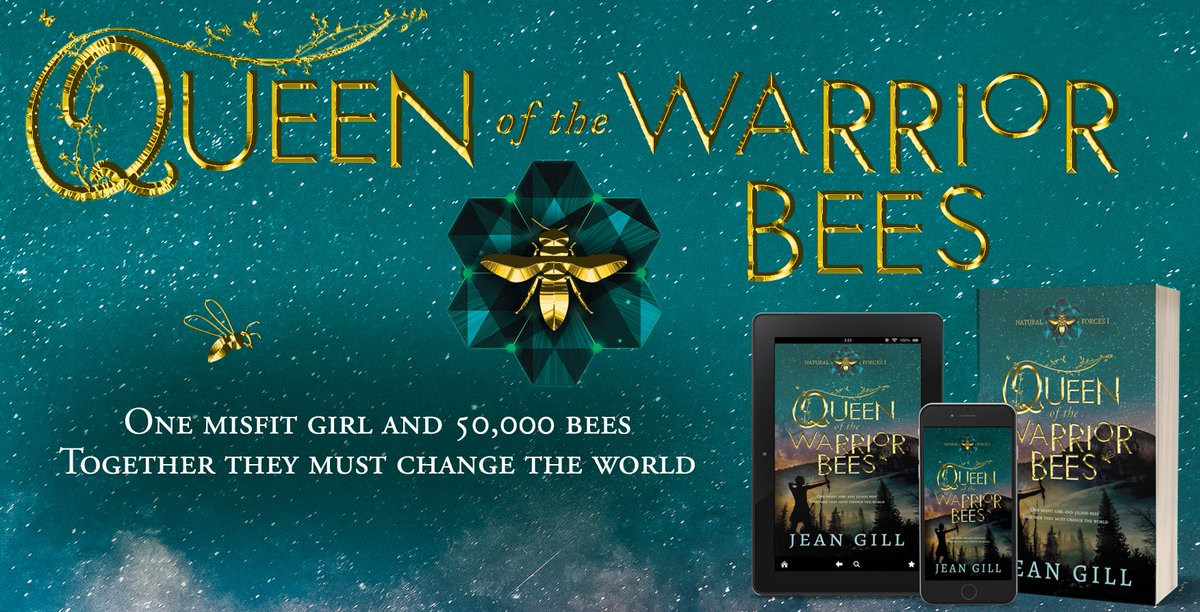 Can one girl and a colony of #bees reunite Man and #Nature, or is the split irreversible?#fantasybook #savethebees #savetheplanet #recommended http://mybook.to/QueenOfBees by @writerjeangill