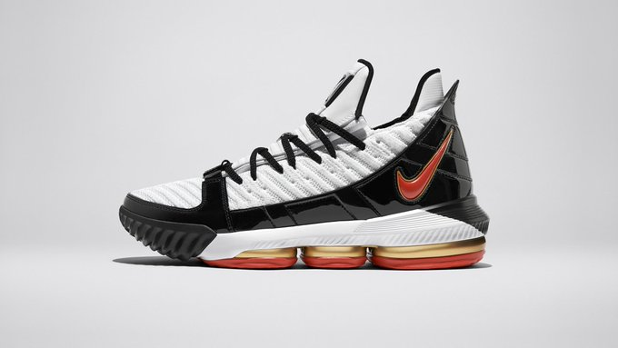 92b854621e61  KingJames  latest silhouette is reimagined with original design elements  inspired by the LeBron 3 PE. Available now  swoo.sh 2J7eYSS  lebron16  nike