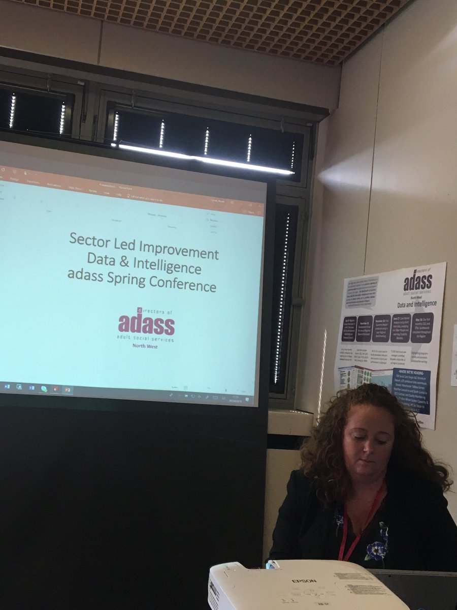 test Twitter Media - Great regional excellence sessions taking place at #SS19adass including this one from ⁦@NWADASS⁩ on effective use of data to underpin sector led improvement. https://t.co/fUVyHIsmG3