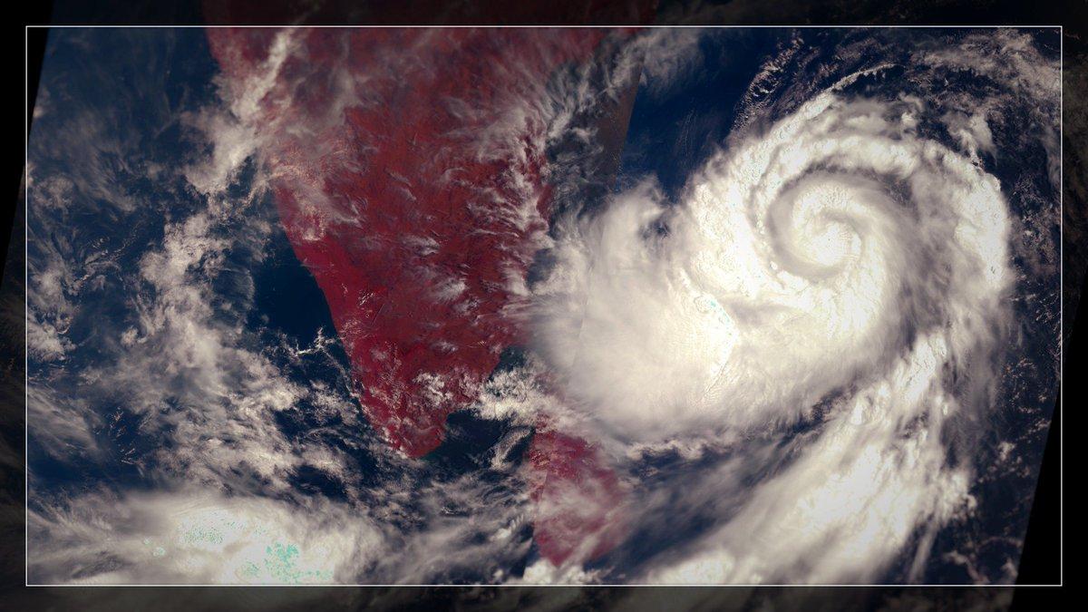 #CycloneFani 30/04/2019 | #Sentinel3 🛰️ #FaniCyclone #Fani #Cyclone