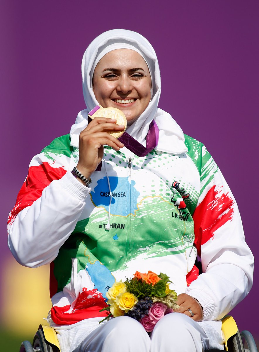 """Uživatel Paralympic Games na Twitteru: """"Happy birthday, Zahra ..."""