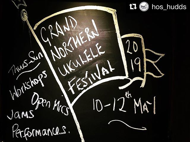 #Repost @hos_hudds with @get_repost ・・・ Only a few days away from the Grand Northern Ukulele Festival! #gnuf #cameronsbrewery #headofsteamhuddersfield #grandnorthernukulelefestival https://www.instagram.com/cornett0/p/BxLTe9XgWtO/…