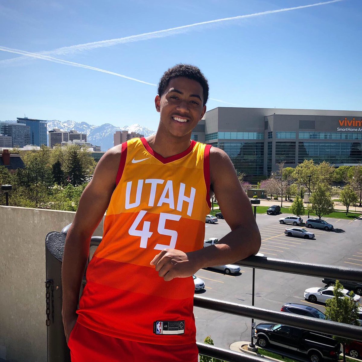 new arrivals 9a52b 72608 Utah Jazz Team Store on Twitter: