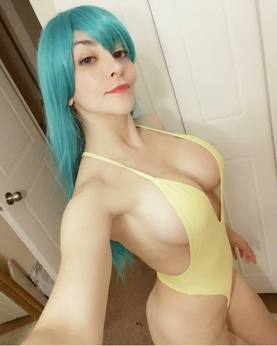 Sexy nude bulma cosplay — pic 3