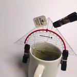 Image for the Tweet beginning: Grüner Tee, zwei Minuten bei