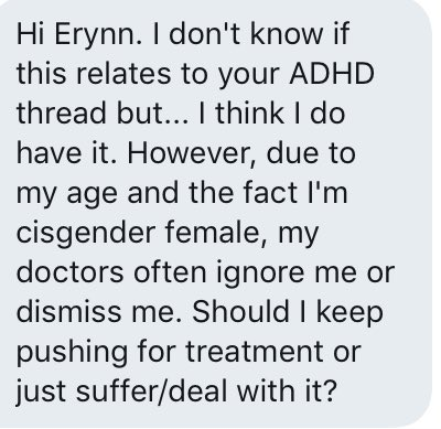 Just How Common Is Adhd Really New >> Erynn Brook On Twitter This Is A Super Common Thing Adhd