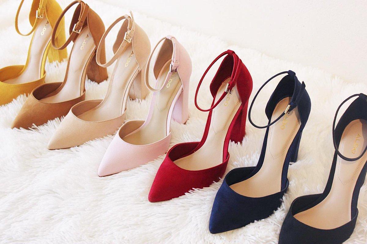 custom pair of #Aldo Nicholes heels