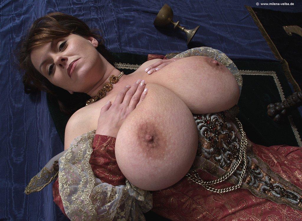 busty boobs Milena