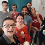 Image for the Tweet beginning: Lab adventure to @tosci for