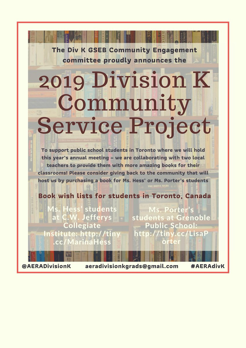 aera division k dissertation award