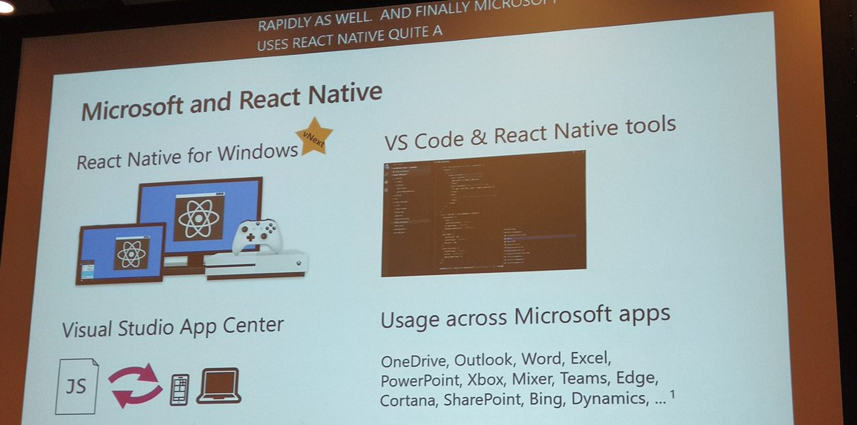 React Native for Windows Session Recap