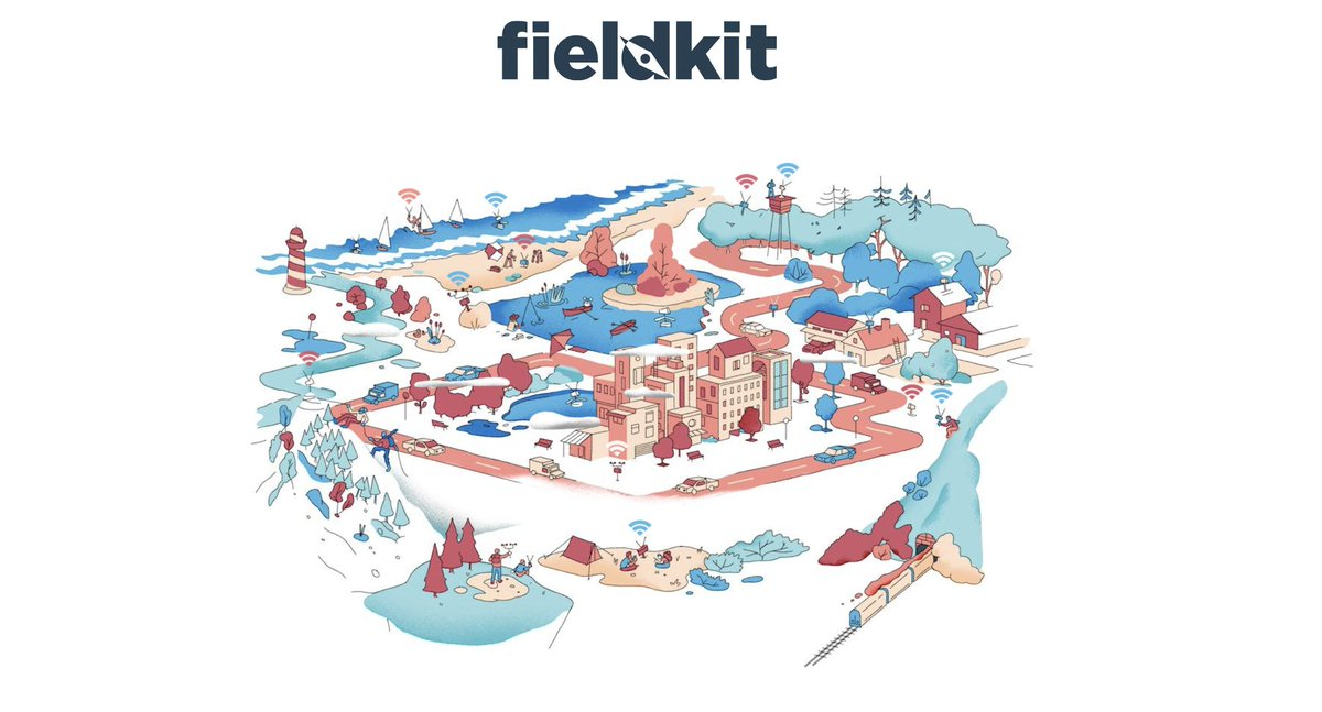 For the last four years, Ive worked with @shahselbe and many other talented folks on FieldKit - an open source hardware and software platform for low cost, reliable environmental sensing. You can learn a bit about what were doing here: survey.fieldkit.org