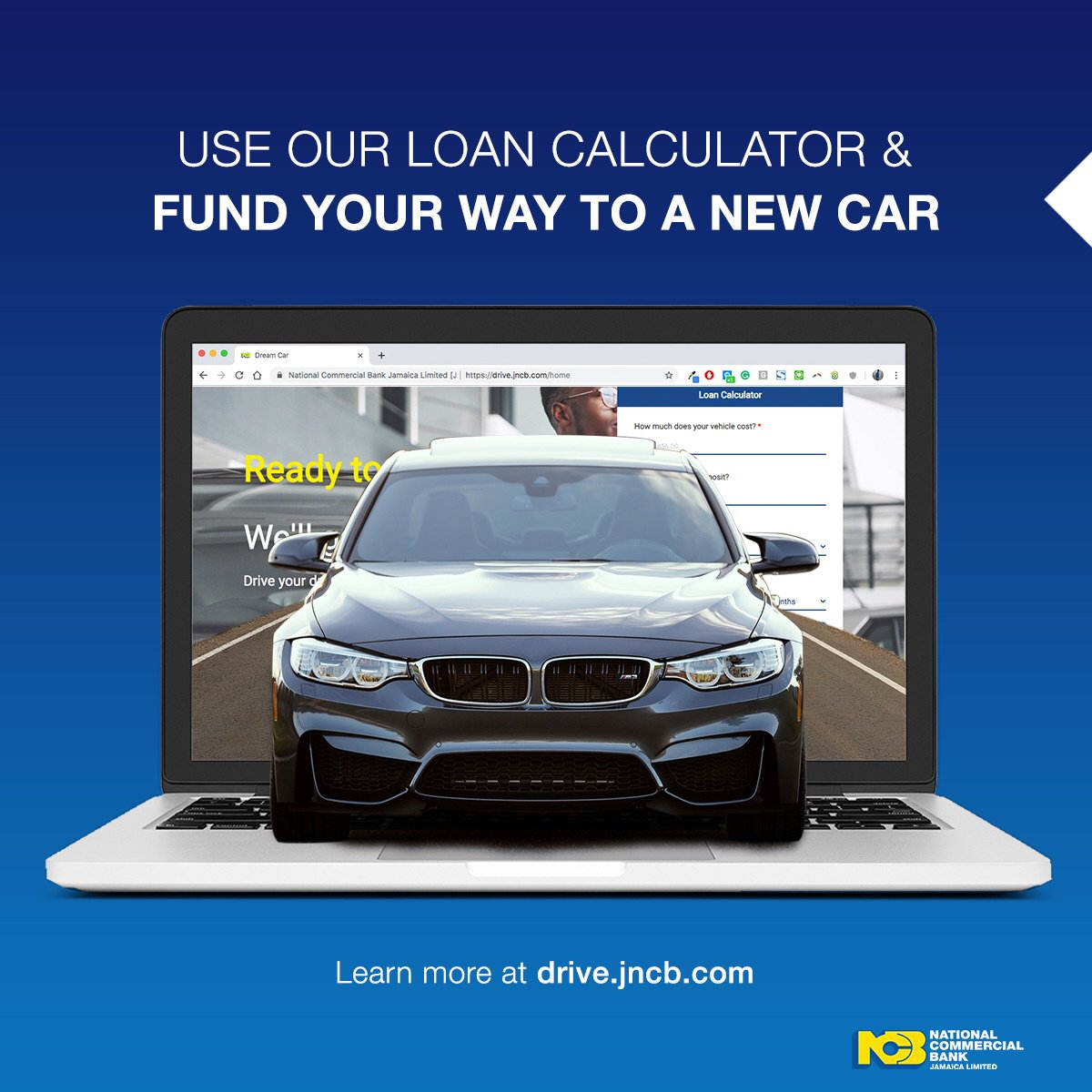 Ncb Jamaica On Twitter Need A New Car Visit Https T Co 4ylrfyfxkr And Use Our Loan Calculator To Calculate What Your Monthly Payments Will Look Like Https T Co Bfon5sd9dy