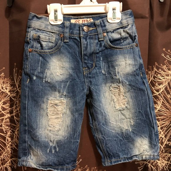 GS-115 Boys Premium Thick Stitch Denim Jeans with Styled Pocket Size