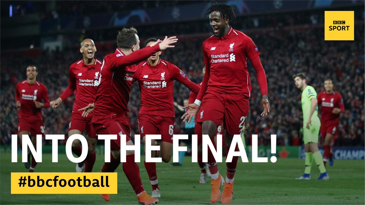 UNBELIEVABLE!!!  LIVERPOOL HAVE ACTUALLY DONE IT!  Liverpool 4-0 Barcelona (4-3 agg)  #LIVBAR reaction: http://bbc.in/2V5Ez62  #UCL
