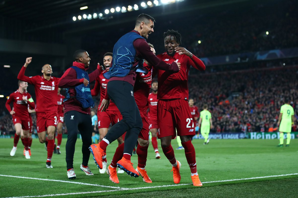 Liverpool beats barca 4 to 0