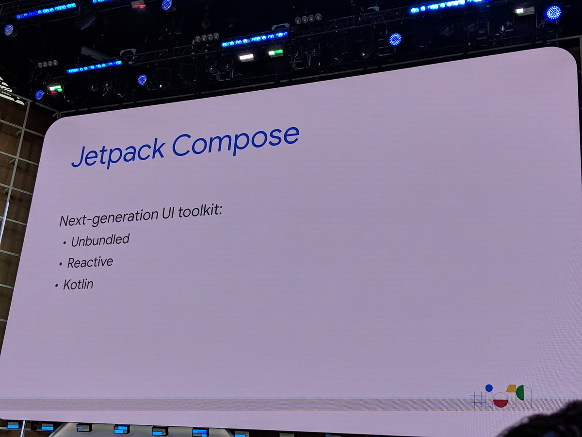 This is a huge development for Android #AndroidDev #io19
