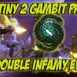 Image for the Tweet beginning: Double Infamy Event Destiny 2
