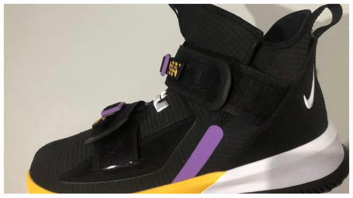 337bc7d624d Lakers Colors Appear on What Could be the Nike LeBron Soldier 13 » https
