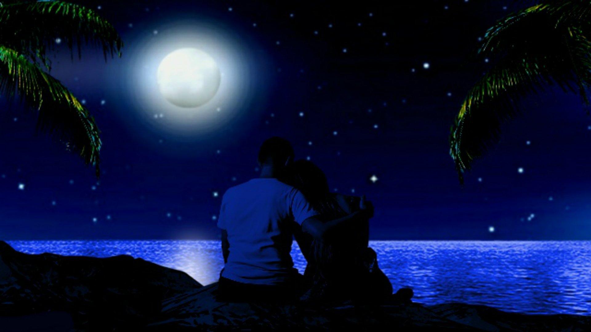 Картинки днем, открытки романтическая летняя ночь