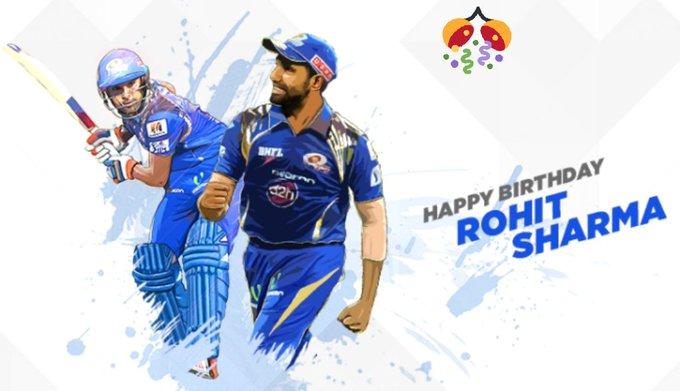 Happy birthday to you Rohit Sharma