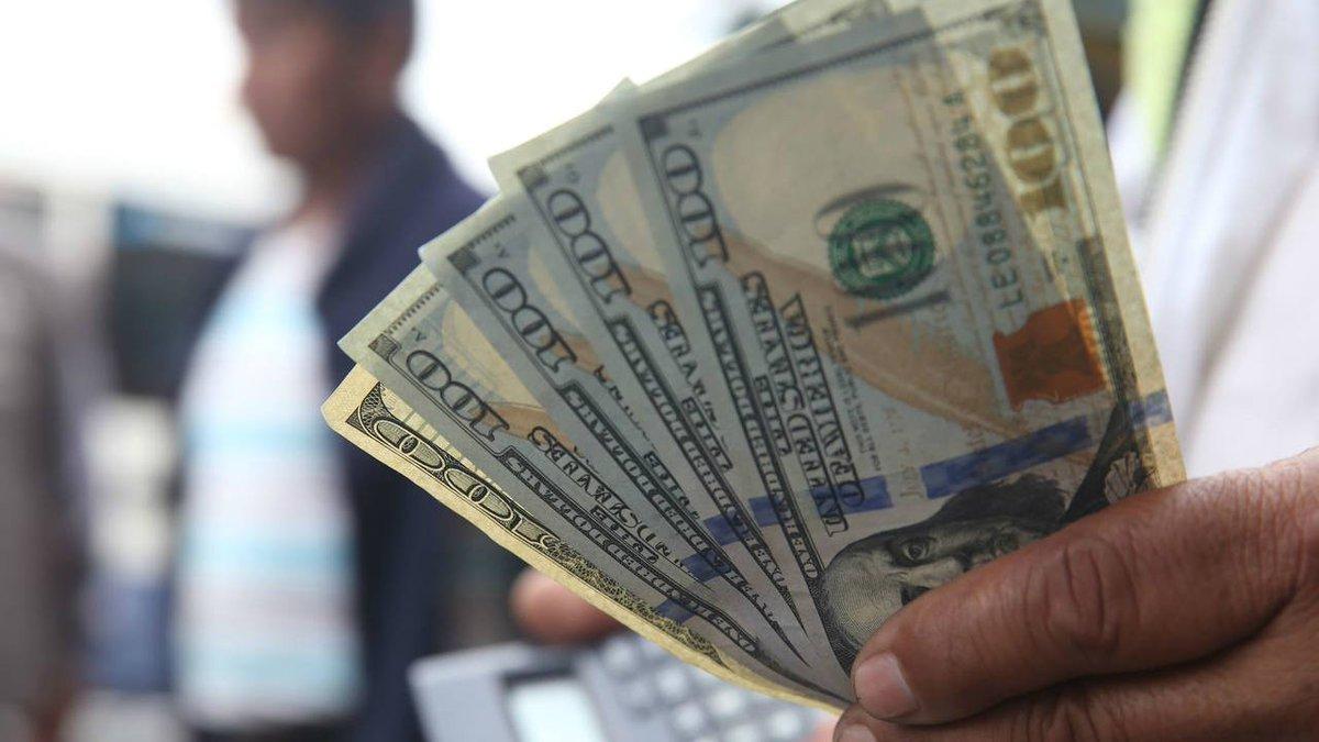 El dólar bajó 10 centavos y cerró a $ 45,20