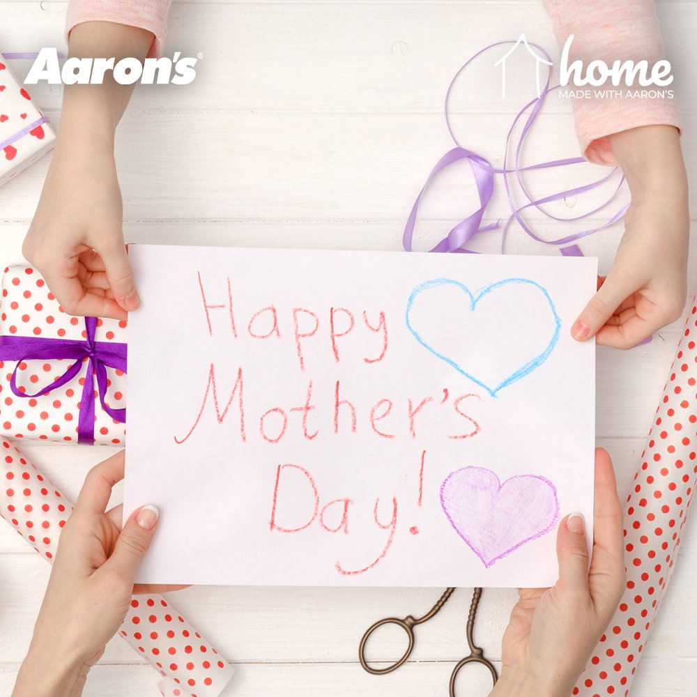 Make your mom feel even more special with a handmade gift coming straight from the heart.  http://www.blog.aarons.com/blog/diy-mothers-day-gifts/…