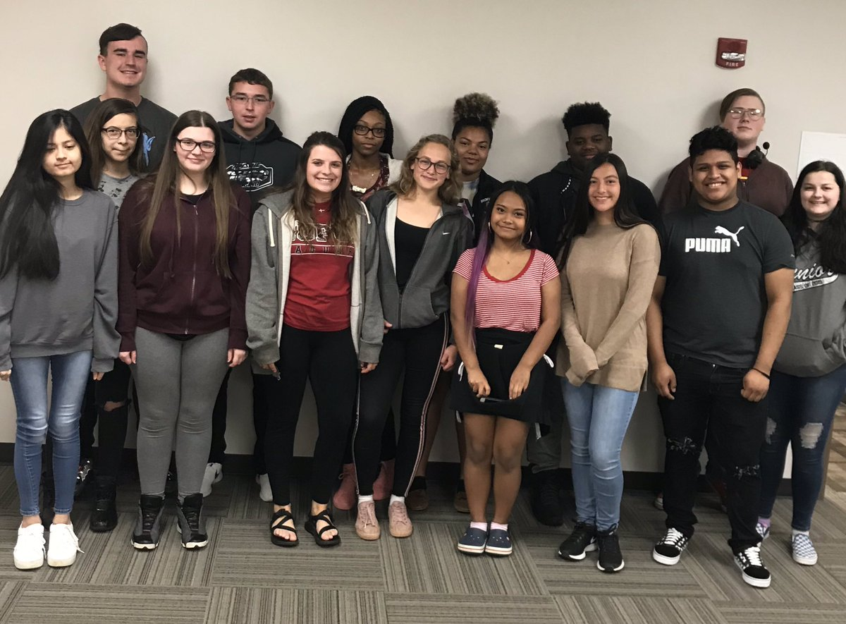 Building School Culture! April's Students of the Month