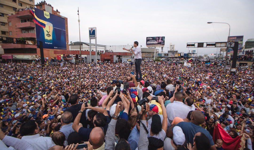 """В Венесуэле возобновились протесты: лидер оппозиции Гуайдо объявил """"финальный этап"""" смены власти в стране - Цензор.НЕТ 7379"""