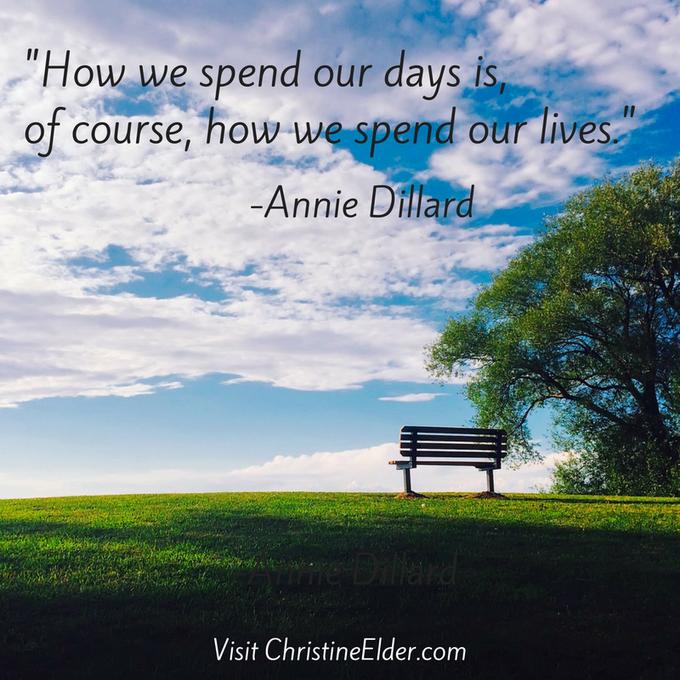 Happy Birthday to Pulitzer Prize winning author, Annie Dillard.