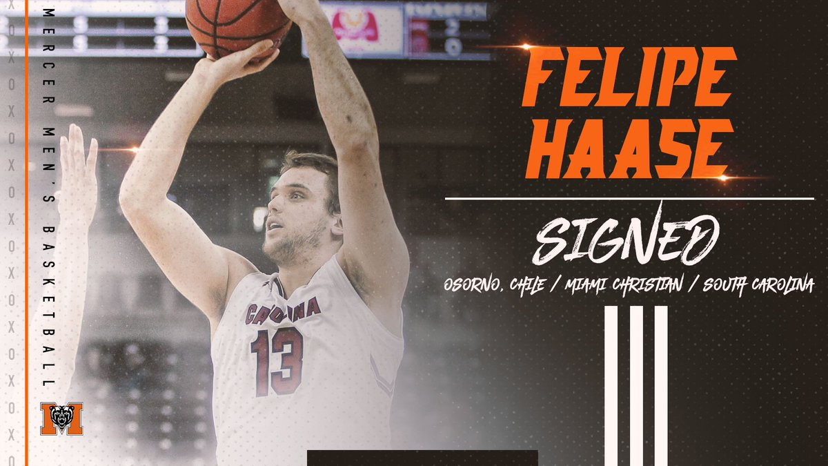 Welcome to the fam, @FelipeHaase13!  #RoarTogether 🐻🏀  📰: http://bit.ly/2PEyqI6