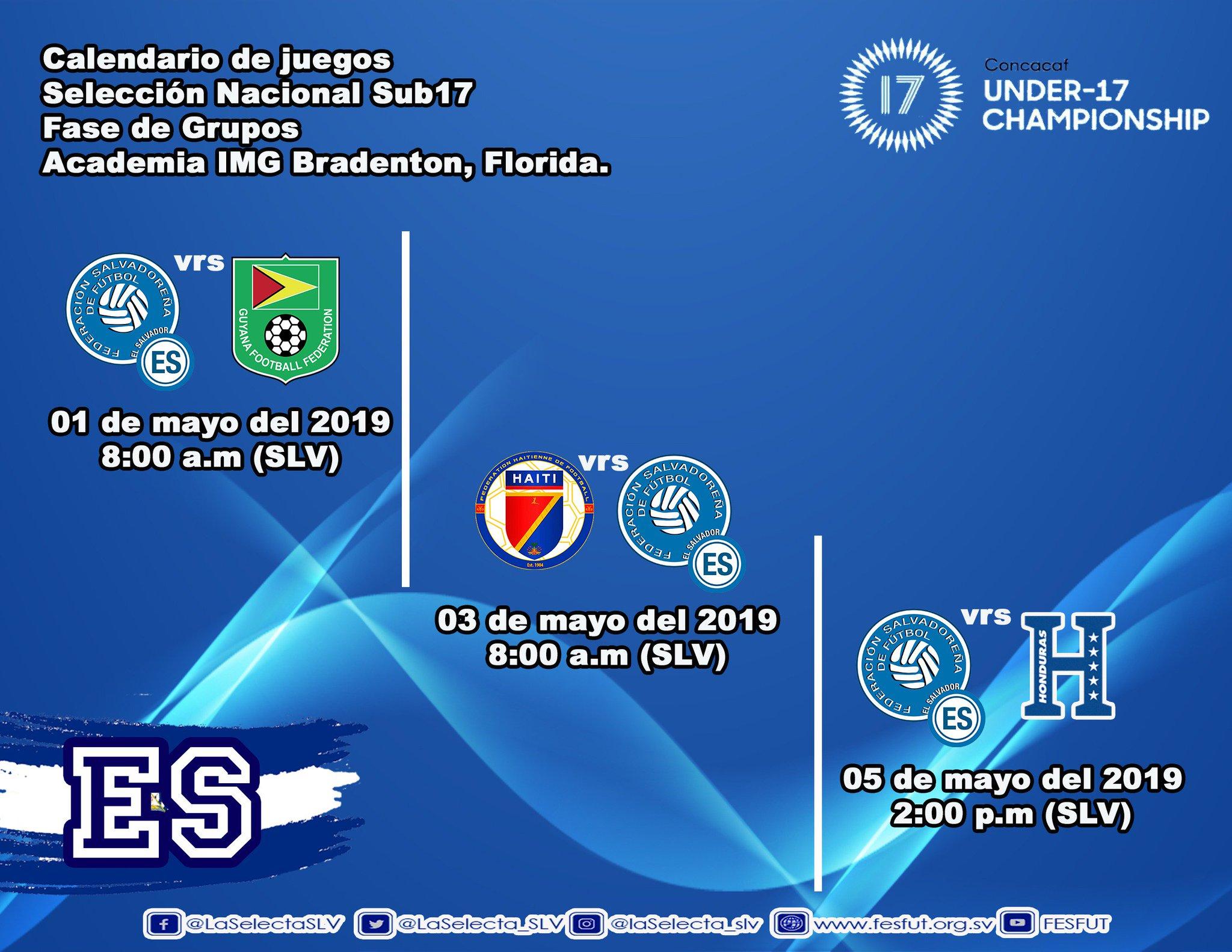 Sub17 Campeonato CONCACAF 2019 [Preparacion - Eliminatorias Copa Mundo Brasil 2019] D5a_k_IX4AInlTk