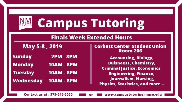 Campus Tutoring Services On Twitter Campus Tutoring Service
