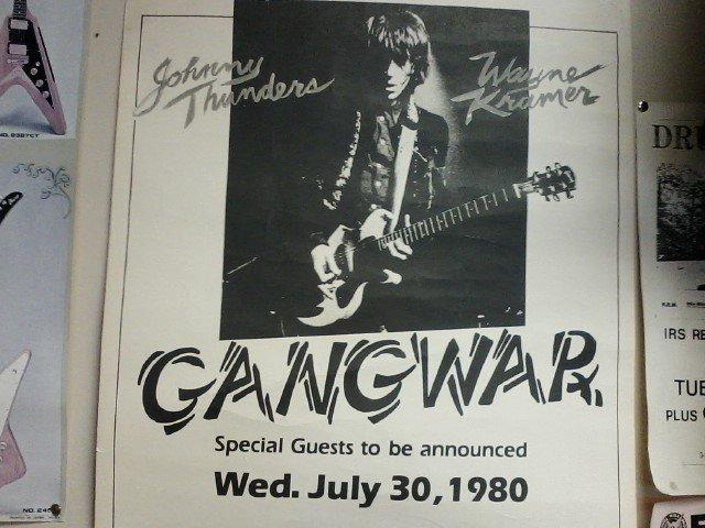 Happy Birthday to Wayne Kramer of Gangwar (& MC5)