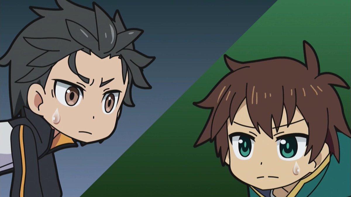 Resultado de imagen para kazuma and subaru