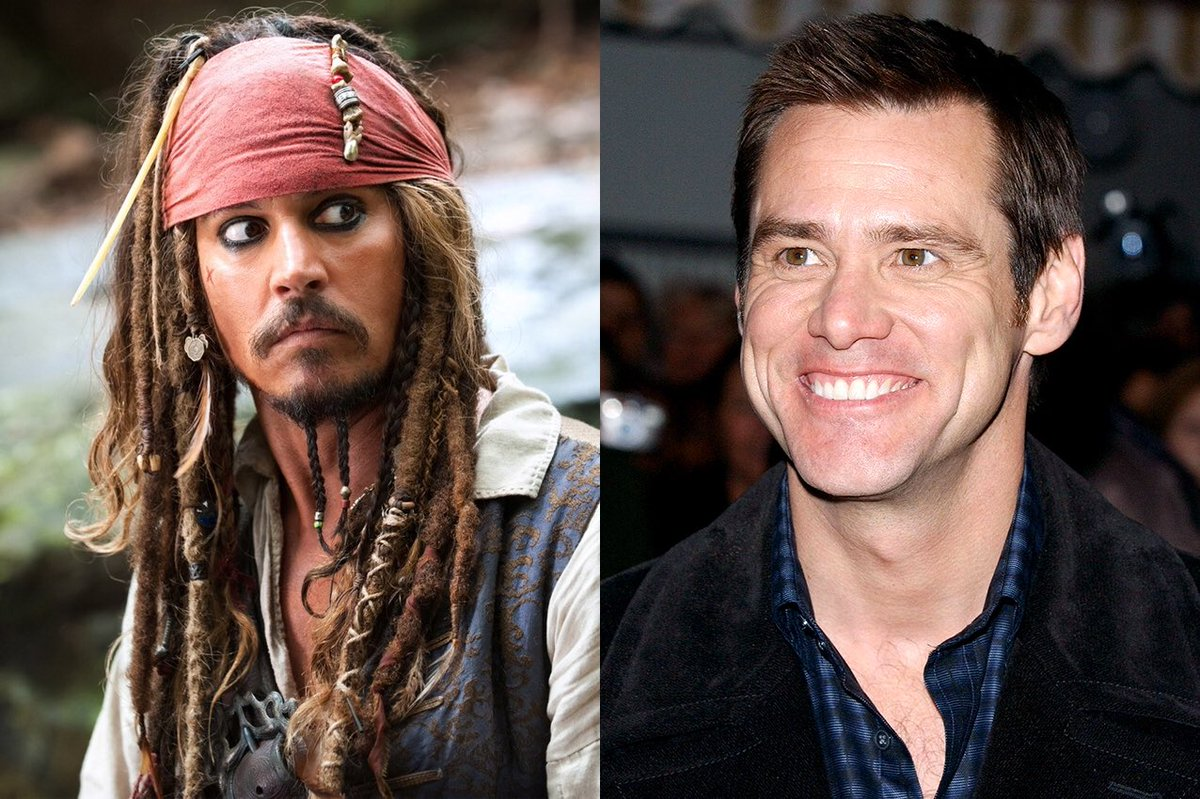 Jim Carrey rejected the role of Captain Jack Sparrow Dustin Hoffman, one of the actors who regretted turning down the role.