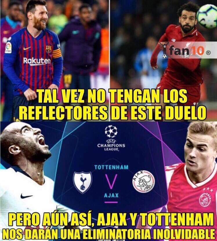 Los Memes Del Tottenham Hotspur Vs Ajax
