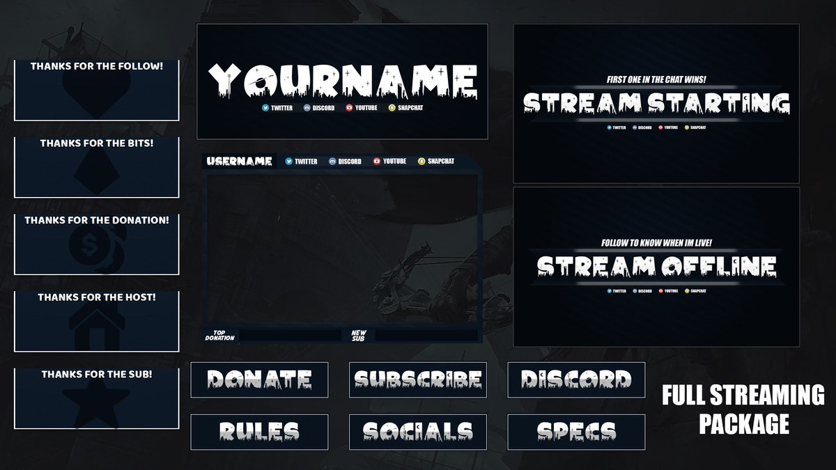 Free Twitch Overlays (@Twitch_Overlay)   Twitter
