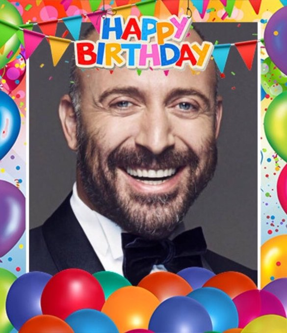 Happy birthday Halit Ergenç