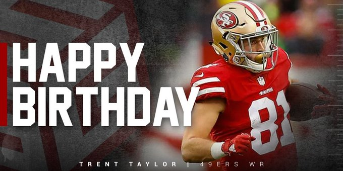 Happy birthday  Looking forward to seeing you rock the 1 5 this season