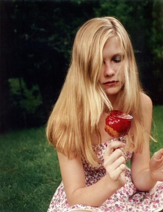 Happy birthday to the formidable kirsten dunst. who has played a version of me in every single one of her films