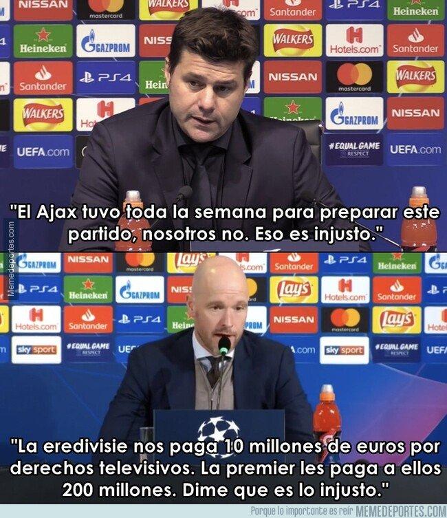 Tottenham Vs Ajax When: Los Memes Del Tottenham Hotspur Vs Ajax