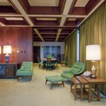 The original finishes and furnishings of the #LBJ suite at the #historic J.J. Pickle building in Austin are preserved intact from its 1960s presidential occupancy.  #ThisPlaceMatters #PreservationMonth #FedBldgFridays