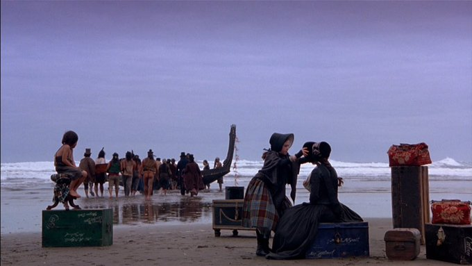 Happy birthday Jane Campion. Those first images from The piano are a thing of beauty.