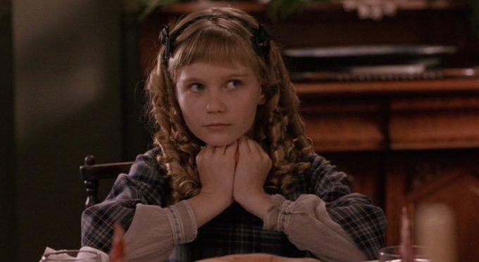 Happy birthday Kirsten Dunst, just adorable in the 1994 film version of Little women.
