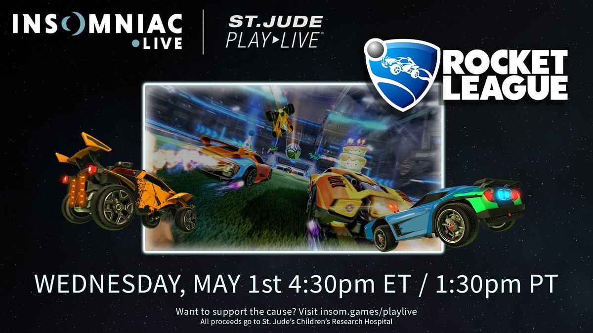 Insomniac Games On Twitter For Our First Stjudeplaylive Stream We