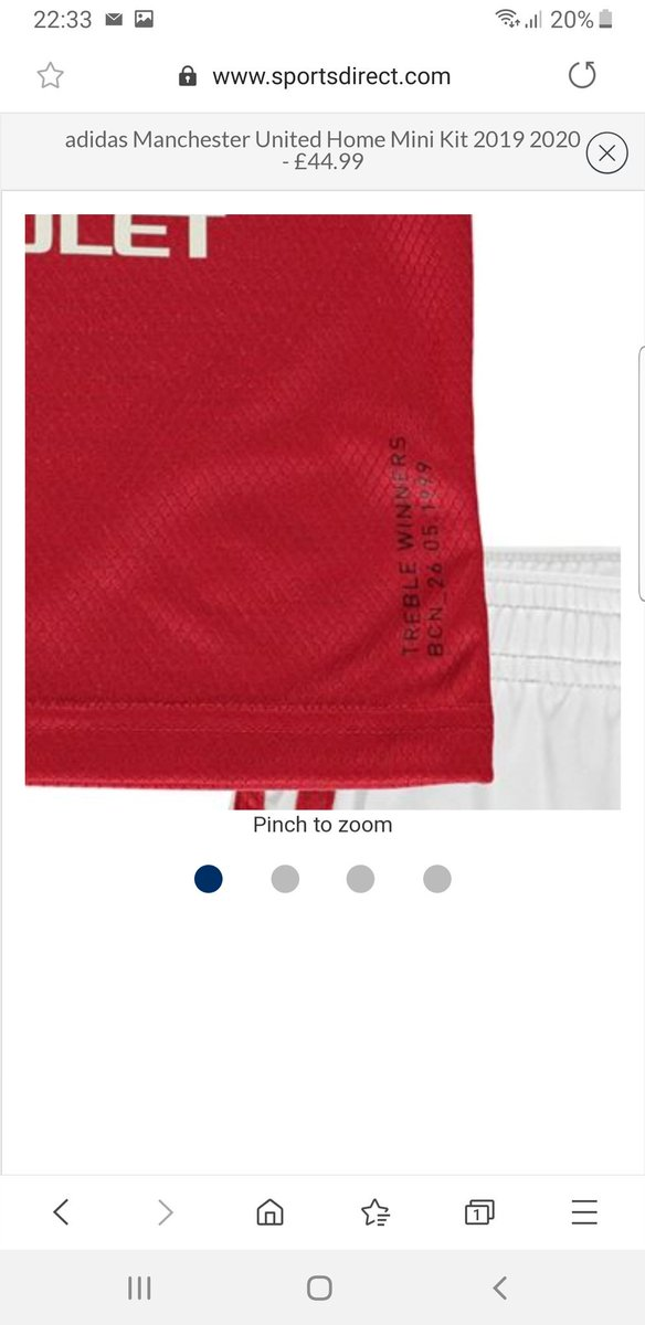 on sale 1e7af 097d8 📸 Sports store leaks images of Man Utd Treble-inspired new ...