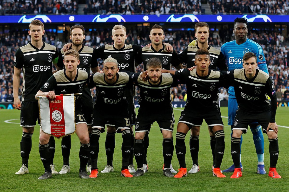 Good result in the first leg of the @ChampionsLeague semis, next: the Dutch cup final! 💪❌❌❌ #Ajax #WijzijnAjax @AFCAjax https://t.co/JFUoTBF4CM