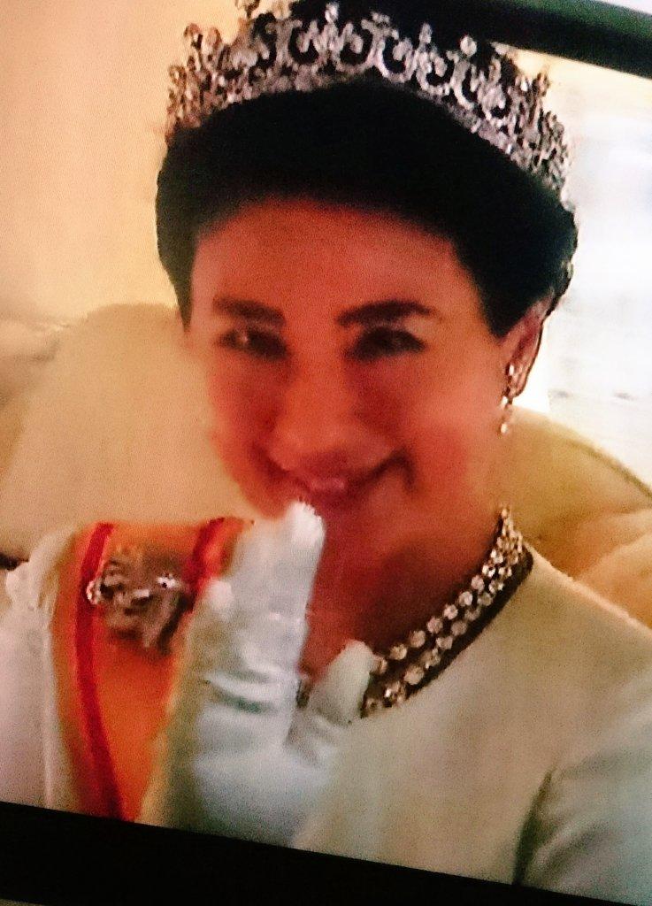 雅子皇后さまとってもおきれいでしたね😊✨✨ 笑顔もティアラも素敵。 pic.twitter.com/ujNF9jXYa8