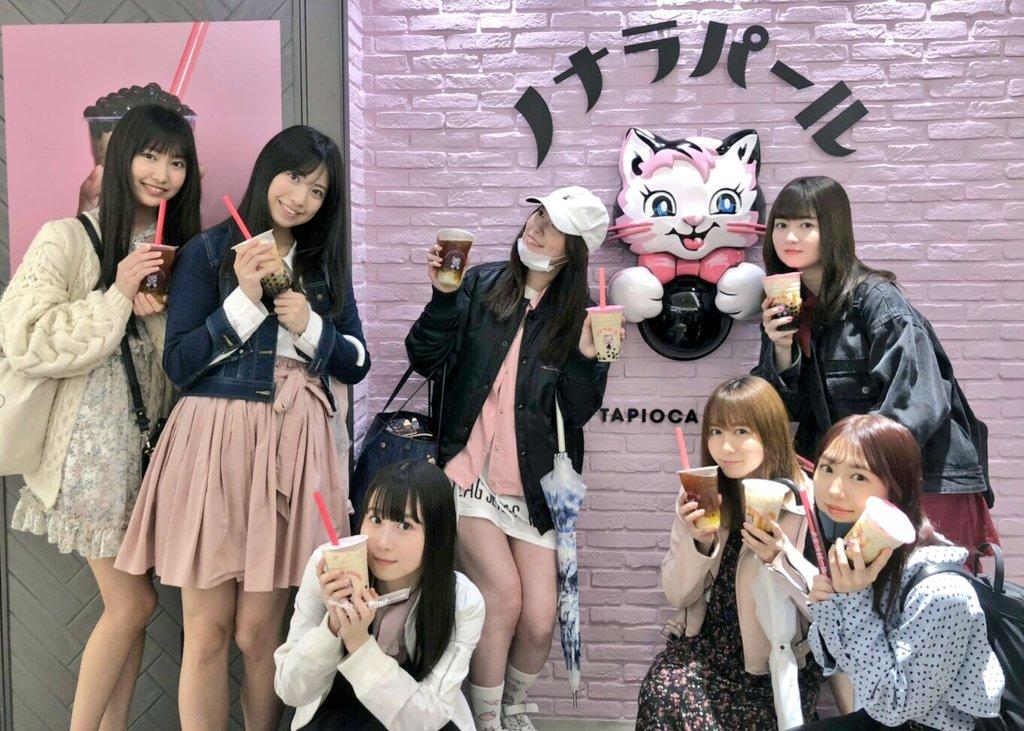 【老舗】バケモノ級の美少女が揃う松井珠理奈タピオカ部が名古屋のタピオカ屋に訪問wwwwwww